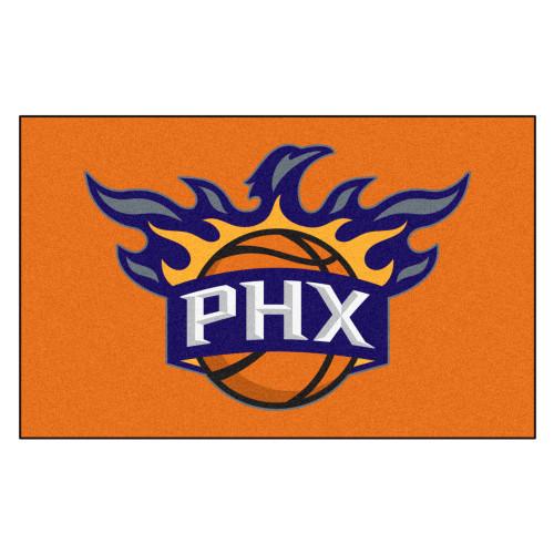 "59.5"" x 94.5"" Orange and Blue NBA Phoenix Suns Ulti-Mat Rectangular Outdoor Area Rug - IMAGE 1"