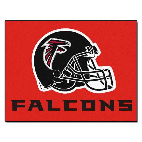 NFL Atlanta Falcons All Star Non-Skid Mat Rectangular Area Rug - IMAGE 1