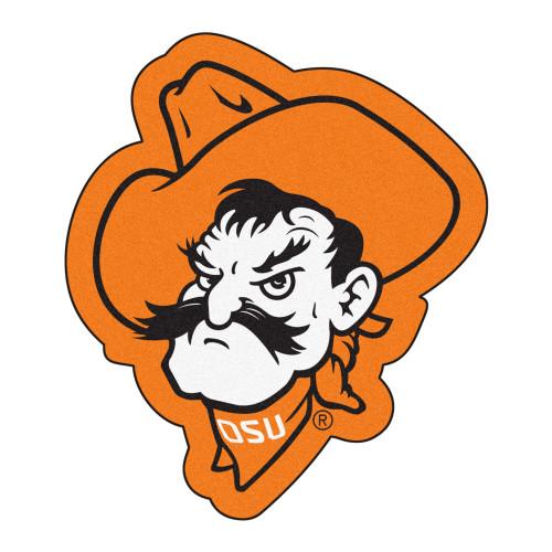 "30"" x 33.3"" Orange NCAA Oklahoma State University Cowboys Mascot Mat - IMAGE 1"