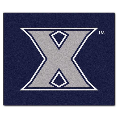 "59.5"" x 71"" Blue NCAA Xavier University Musketeers Tailgater Area Rug - IMAGE 1"