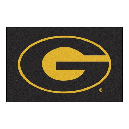 "19"" x 30"" Black and Yellow NCAA Grambling State University Tigers Starter Mat - IMAGE 1"
