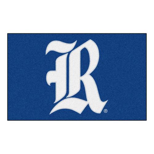 "59.5"" x 94.5"" Blue and White NCAA Rice University Owls Ulti-Mat Area Rug - IMAGE 1"