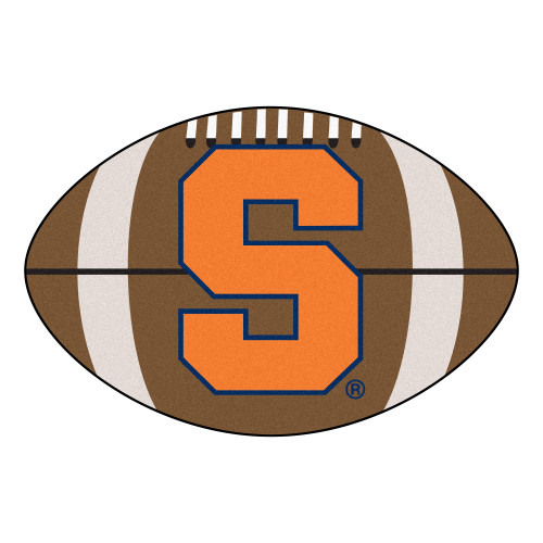 "20.5"" x 32.5"" Brown and Orange NCAA Syracuse University Orange Mat - IMAGE 1"