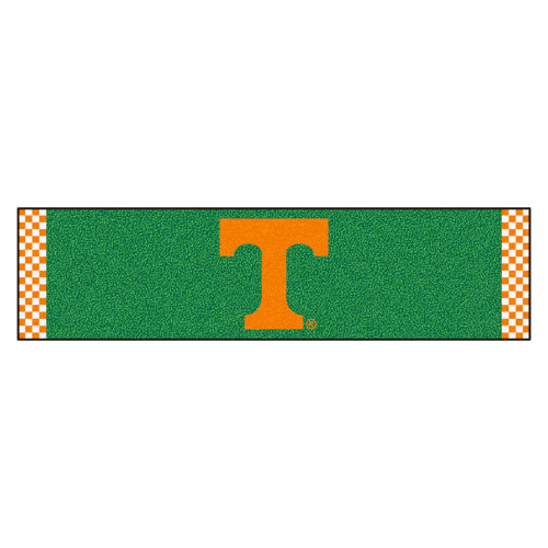 """18"""" x 72"""" Green and Orange NCAA University of Tennessee Volunteers Golf Putting Mat - IMAGE 1"""