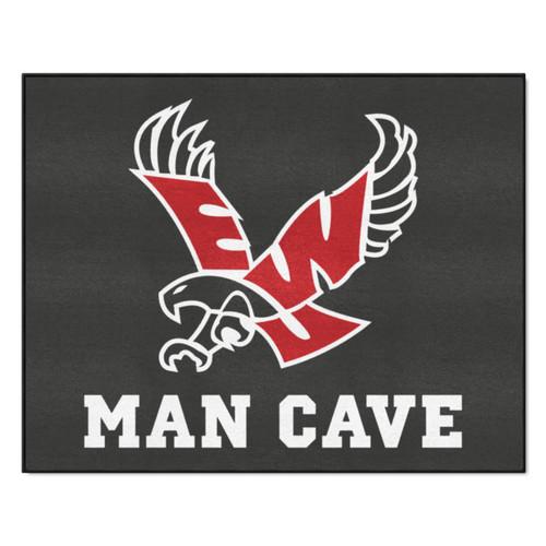 "33.75"" x 42.5"" Black and Red NCAA Eastern Washington University Eagles All-Star Door Mat - IMAGE 1"