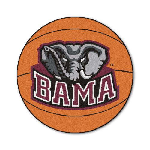 "27"" Orange NCAA University of Alabama Crimson Tide Mat - IMAGE 1"