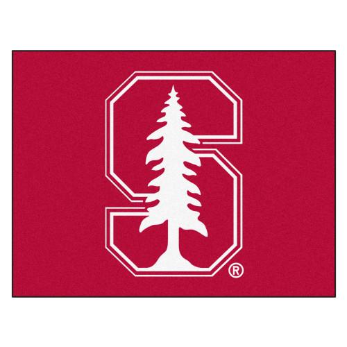 "33.75"" x 42.5"" Red NCAA Stanford University Cardinal Rectangular All-Star Mat Outdoor Area Rug - IMAGE 1"