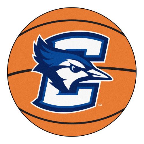 """27"""" Orange and White NCAA Creighton University Bluejays Basketball Mat - IMAGE 1"""