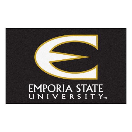 NCAA Emporia State University Hornets Ulti-Mat Rectangular Area Rug - IMAGE 1