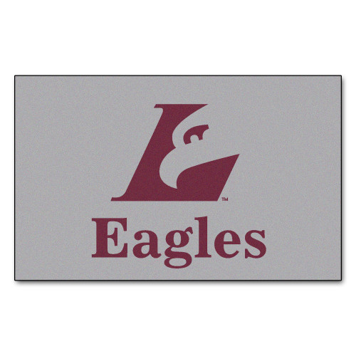 """19"""" x 30"""" Gray and Red NCAA University of Wisconsin-La Crosse Eagles Starter Mat - IMAGE 1"""