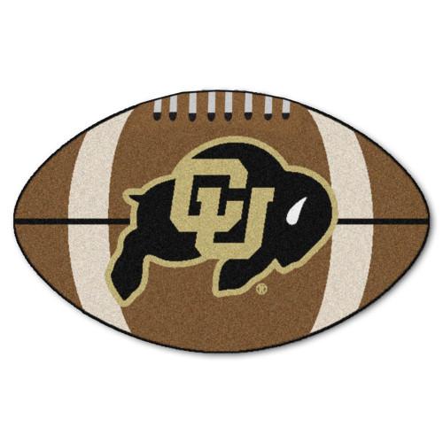 "20.5"" x 32.5"" Brown NCAA University of Colorado Buffaloes Football Mat - IMAGE 1"