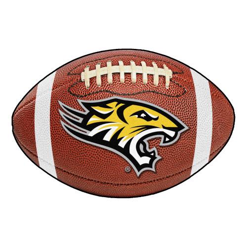 "20.5"" x 32.5"" Brown NCAA Towson University Tigers Football Mat - IMAGE 1"