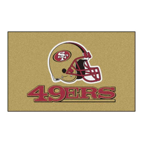 NFL San Francisco 49ers Ulti-Mat Rectangular Area Rug - IMAGE 1