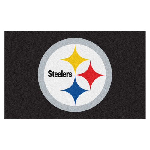 NFL Pittsburgh Steelers Ulti-Mat Rectangular Area Rug - IMAGE 1