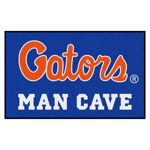 "59.5"" x 94.5"" Blue and Orange NCAA University of Florida Gators Man Cave Mat Area Rug - IMAGE 1"