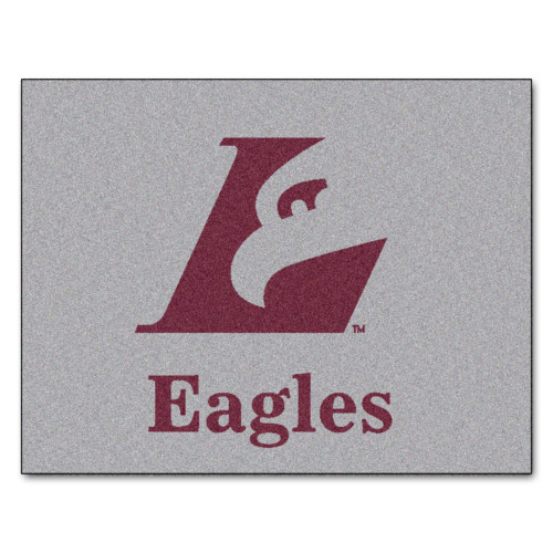 """59.5"""" x 71"""" Red and Gray NCAA University of Wisconsin-La Crosse Eagles Tailgater Mat - IMAGE 1"""