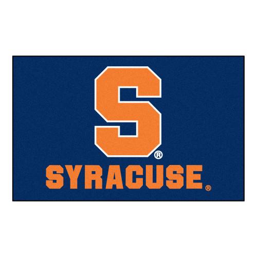"59.5"" x 94.5"" Blue and Orange NCAA Syracuse University Ulti-Mat Rectangular Mat - IMAGE 1"