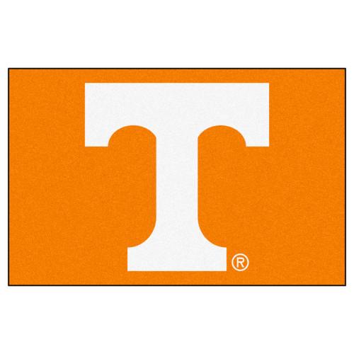 "19"" x 30"" Orange and White NCAA University of Tennessee Volunteers Starter Rectangular Mat - IMAGE 1"