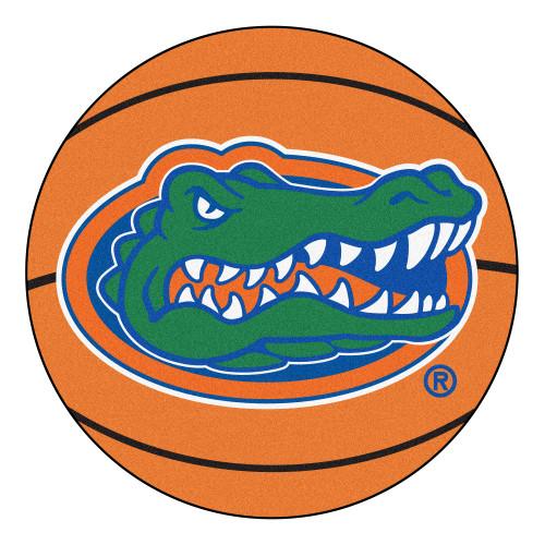 "27"" Orange and Green NCAA University of Florida Gators Basketball Mat - IMAGE 1"