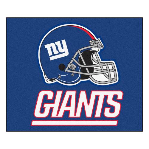 "59.5"" x 71"" Blue and White NFL New York Giants Rectangular Tailgater Mat - IMAGE 1"