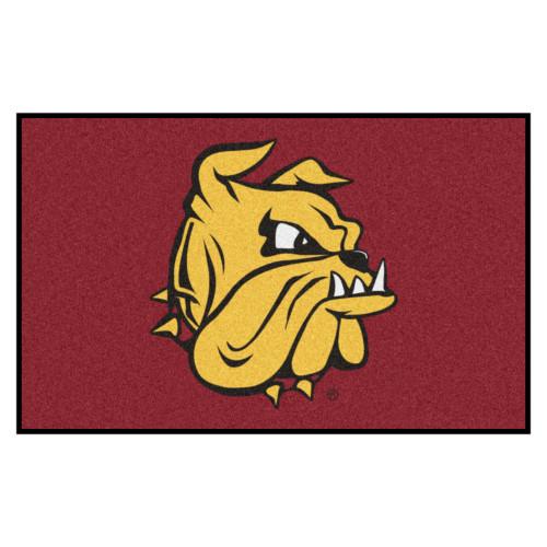 5' x 8' Brown NCAA University of Minnesota-Duluth Bulldogs Ulti-Mat Rectangular Area Rug - IMAGE 1