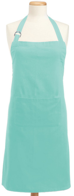 32' x 28' Light Blue Colored Adjustable Chefs Apron - IMAGE 1