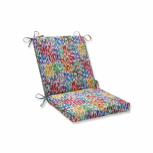 """36.5"""" Vibrantly Colored Squared Corners Chair Cushion - IMAGE 1"""