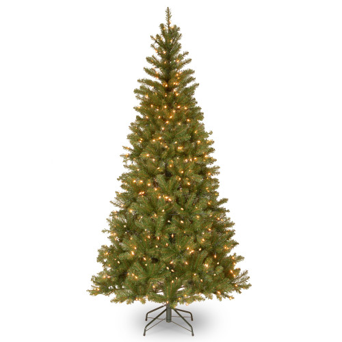 7' Pre-Lit Aspen Spruce Artificial Christmas Tree - Clear Lights - IMAGE 1