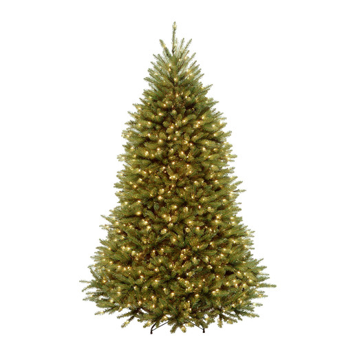 7' Pre-Lit Dunhill Fir Artificial Christmas Tree – Clear Lights - IMAGE 1