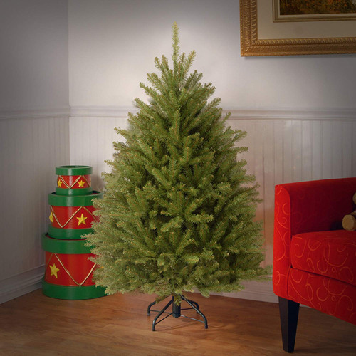 4.5' Dunhill Fir Artificial Christmas Tree - Unlit - IMAGE 1