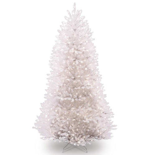 7.5' Pre-lit Dunhill Fir Artificial Christmas Tree – Clear Lights - IMAGE 1