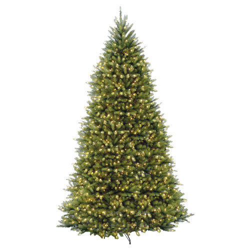 7.5' Pre-Lit Dunhill Artificial Christmas Tree - Clear Lights - IMAGE 1