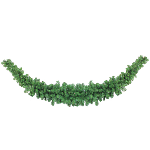 7' Green Colorado Artificial Christmas Swag - Unlit - IMAGE 1