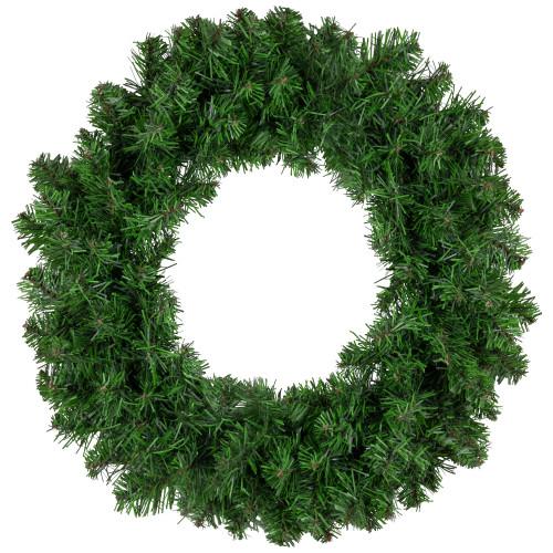 Green Colorado Pine Artificial Christmas Wreath - 16-Inch, Unlit - IMAGE 1