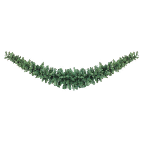 7' Green Coniferous Mixed Pine Artificial Christmas Swag - Unlit - IMAGE 1