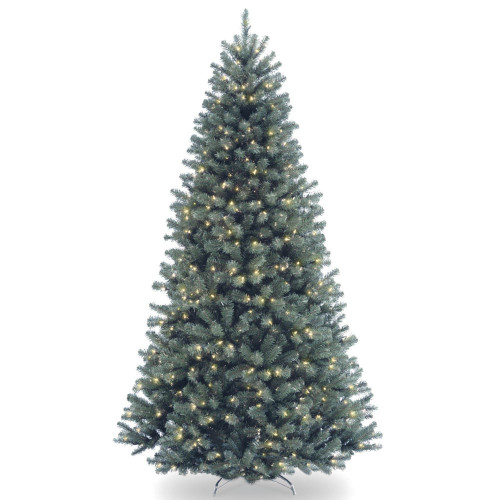 7.5' Pre-Lit North Valley Spruce Artificial Christmas Tree - Clear Lights - IMAGE 1