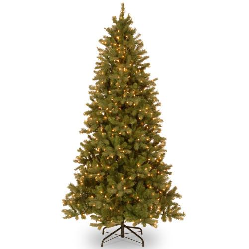 7.5' Pre-Lit Downswept Douglas Fir Artificial Christmas Tree - Clear Lights - IMAGE 1