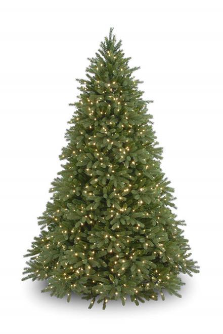 7.5' Pre-Lit Jersey Fraser Fir Artificial Christmas Tree - Clear Lights - IMAGE 1