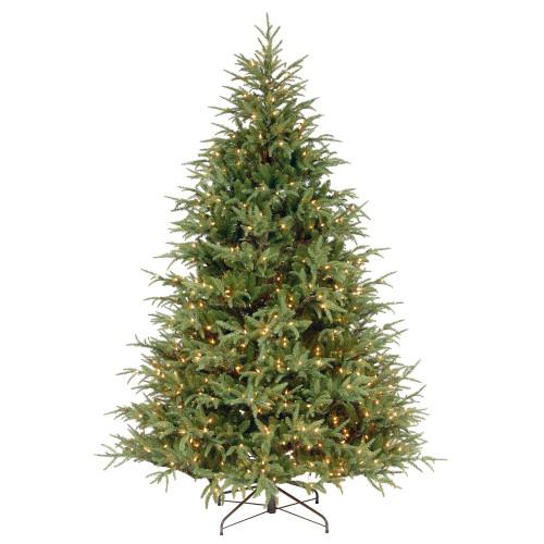 7.5' Pre-Lit Frasier Grande Artificial Christmas Tree - Clear Lights - IMAGE 1