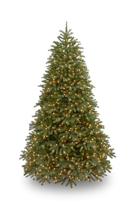 7.5' Pre-Lit Jersey Fraser Fir Medium Artificial Christmas Tree – Clear Lights - IMAGE 1