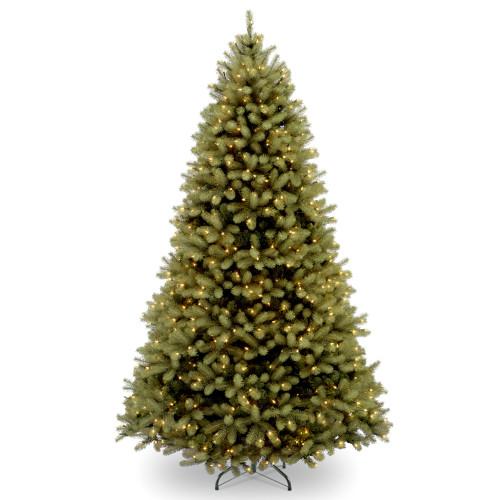 6' Pre-Lit Downswept Fir Artificial Christmas Tree - Clear Lights - IMAGE 1