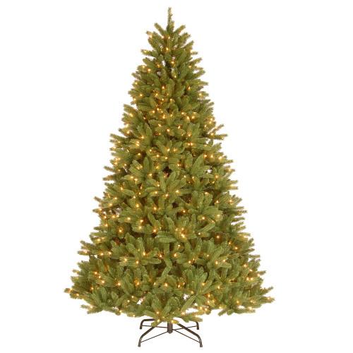 7.5' Pre-Lit Medium Fir Artificial Christmas Tree - Clear Lights - IMAGE 1