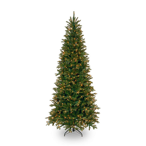 9' Pre-Lit Tiffany Fir Artificial Christmas Tree - Clear lights - IMAGE 1