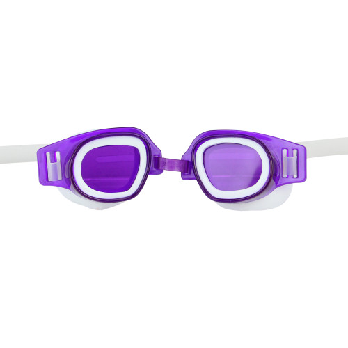 """6 """" Purple Recreational Junior Goggles Swimming Pool Accessory for Ages 4 and up - IMAGE 1"""