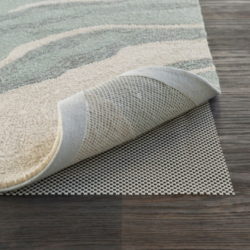 Gray Polymer Pad for a 4' x 6' Outdoor Area Throw Rug - IMAGE 1