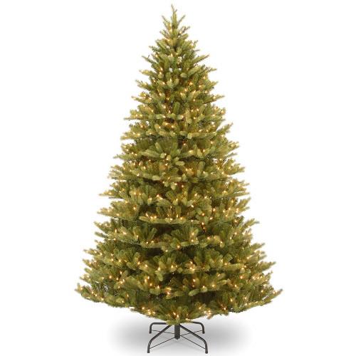 7.5' Pre-Lit Normandy Fir Artificial Christmas Tree - Clear Lights - IMAGE 1