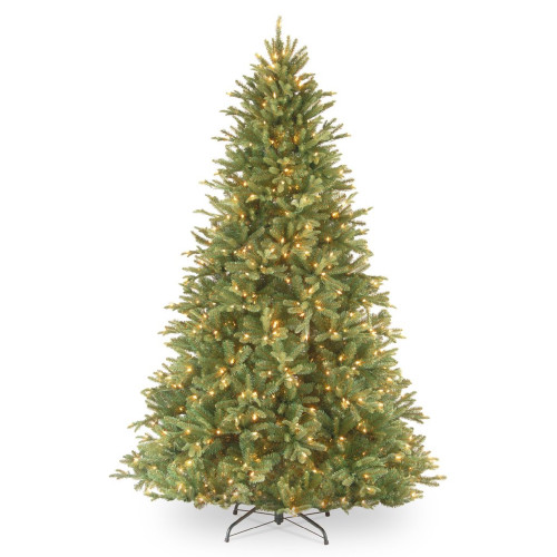 7.5' Pre-Lit Tiffany Fir Artificial Christmas Tree – Clear lights - IMAGE 1