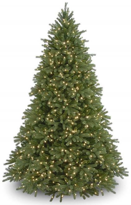 9' Pre-Lit Jersey Fraser Fir Artificial Christmas Tree - Clear Lights - IMAGE 1