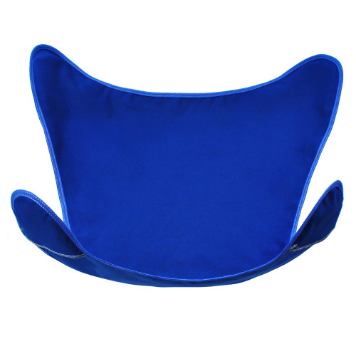 """38.5"""" Royal Blue Heavy-Duty Outdoor Replacement Cover for Butterfly Chair - IMAGE 1"""