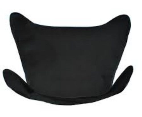 """38.5"""" Black Ebony Outdoor Heavy-Duty Replacement Cover for Butterfly Chair - IMAGE 1"""